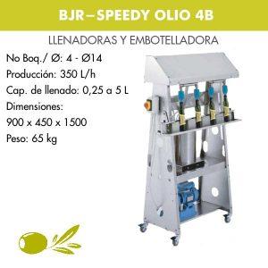 EMBOTELLADORA SPEEDY OLIO 4B