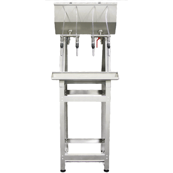 High gravity stainless steel wine bottling machine without filter and  without pump - Intermaquinas