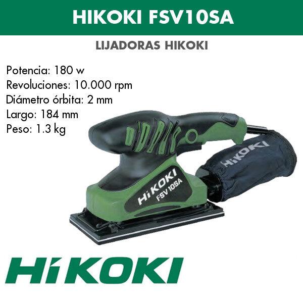 Lijadora Hikoki FSV10SA