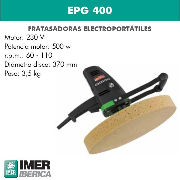 Fratasadora EPG 400