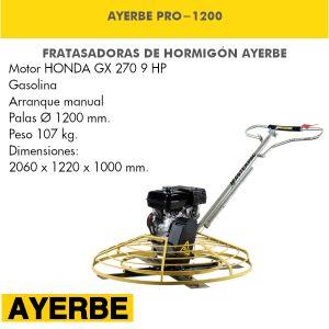 Fratasadora Ayerbe PRO-1200