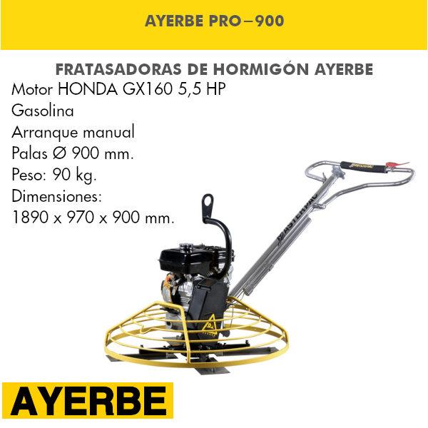 Fratasadora Ayerbe PRO-900