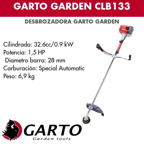 Desbrozadora Garto Garden CLB133