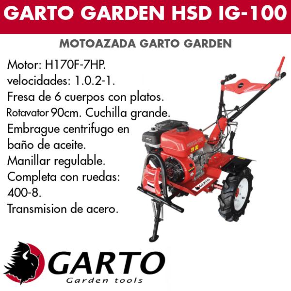 Gato garden HSD IG -100