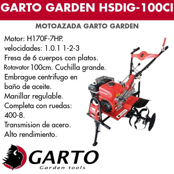 Gato garden HSDIG-100CI