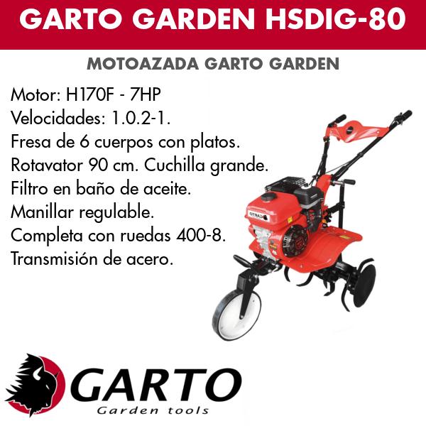 Gato garden HSDIG-80