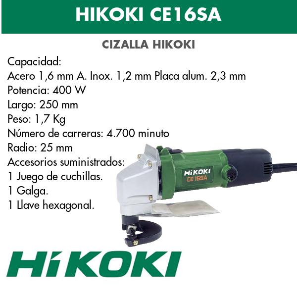 Cizalla eléctrica Hikoki CE16SA
