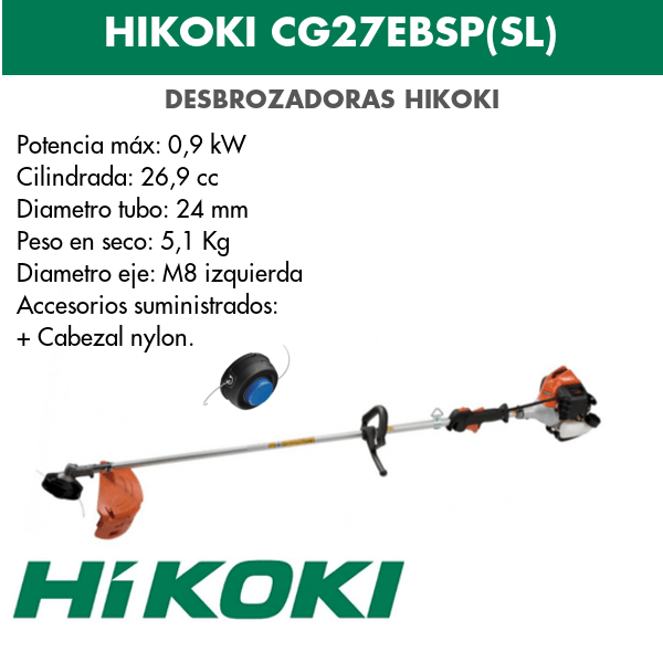 HIKOKI CG27EBSP(SL)