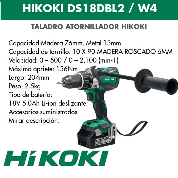 Drilltreiber Hikoki DS18DBL2 und DS18DBL2W4 18v