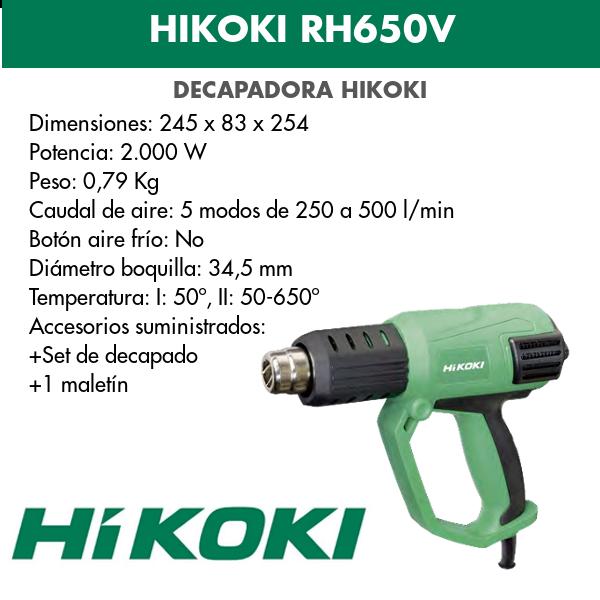 Hikoki RH650V Stripper