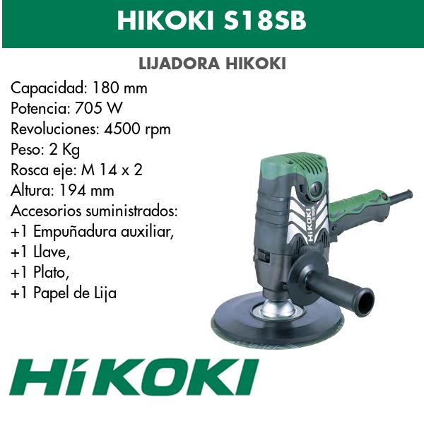 Sander Hikoki S18SB