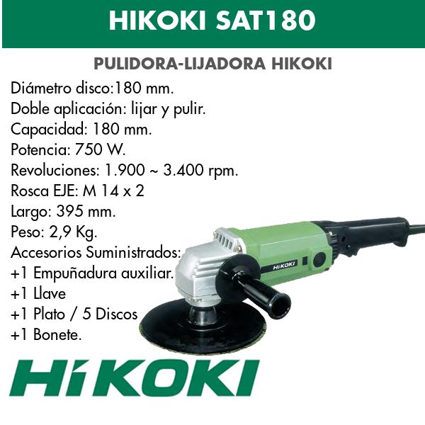 Polierschleifer Hikoki SAT180