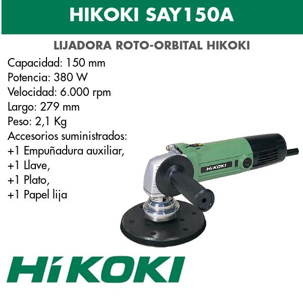 Hikoki Roto-Exzenterschleifer SAY150A