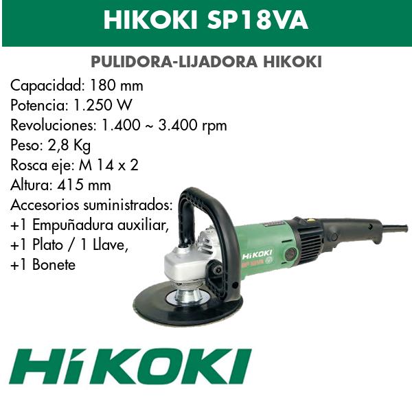 Polierschleifer Hikoki SP18VA
