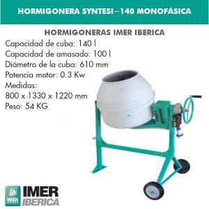 HORMIGONERA SYNTESI-140 MONOFÁSICA