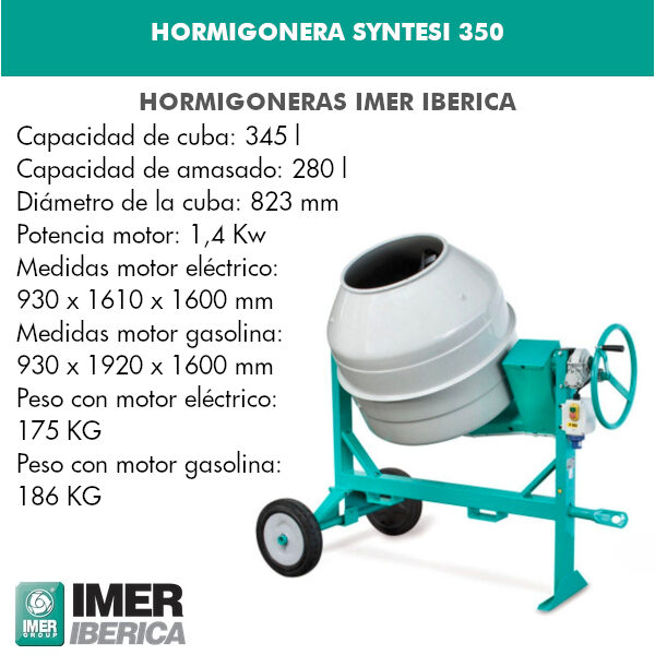 HORMIGONERAS SYNTESI 350