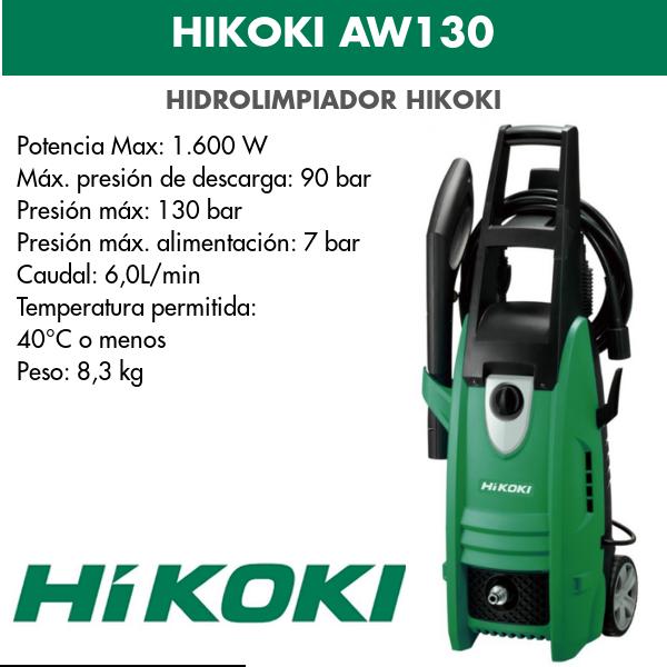 Hidrolimpiador HIKOKI AW130