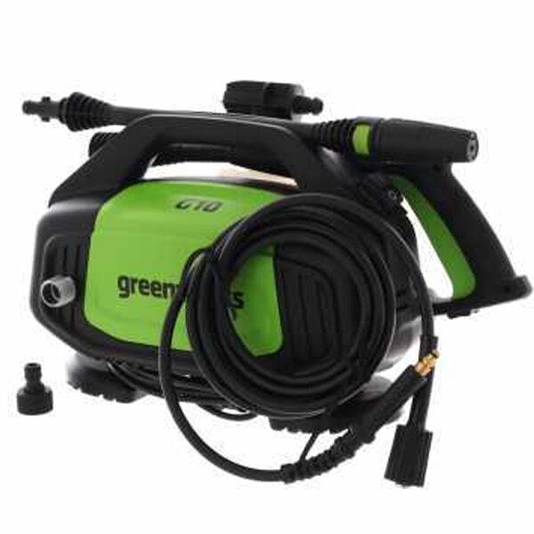 Hidrolimpiadora eléctrica Greenworks G10