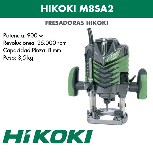 Hikoki Fräsmaschine M8SA2