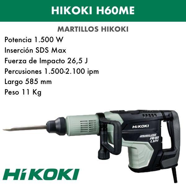 Hammerzerstörer Hikoki H60ME