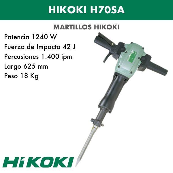 Hammerzerstörer Hikoki H70SA