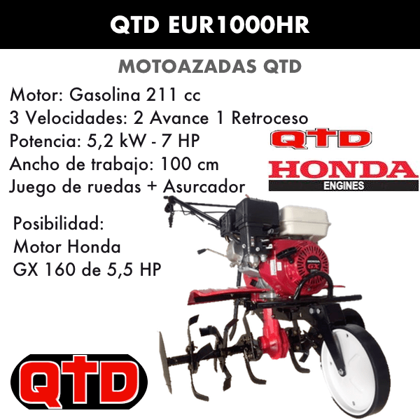 Motoazada QTD EUR1000