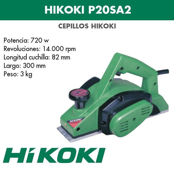 Cepillo Hikoki P20SA2