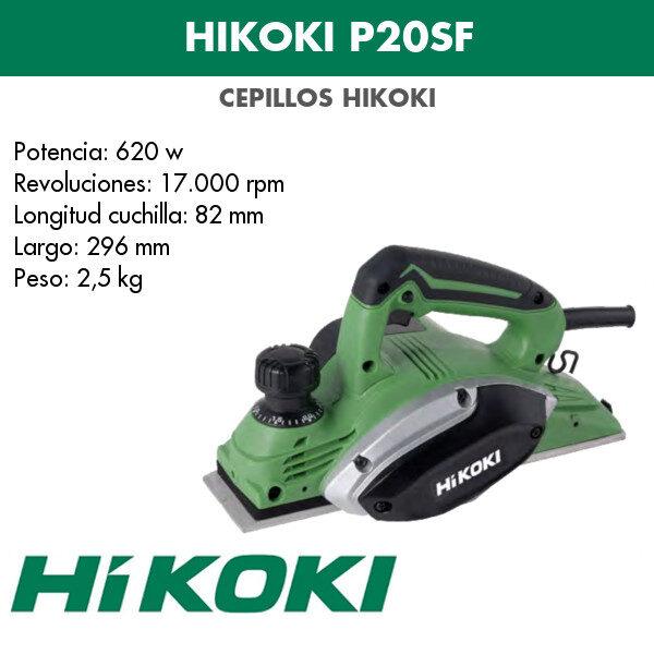 Cepillo Hikoki P20SF