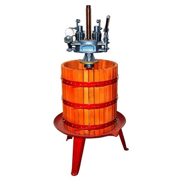 Prensa de vino hidraúlica de madera