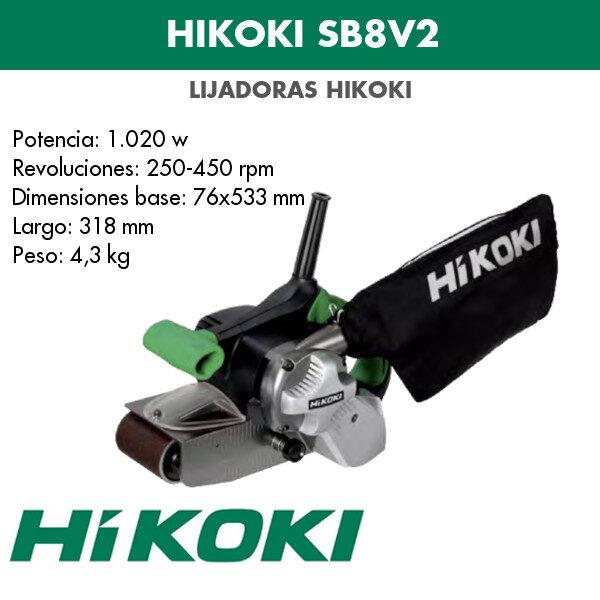 Lijadora Hikoki SB8V2