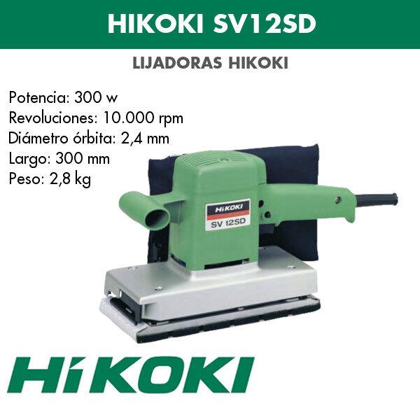 Lijadora Hikoki SV12SD