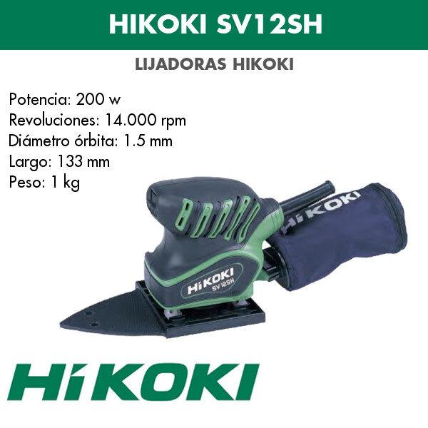 Lijadora Hikoki SV12SH