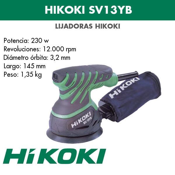 Lijadora Hikoki SV13YB