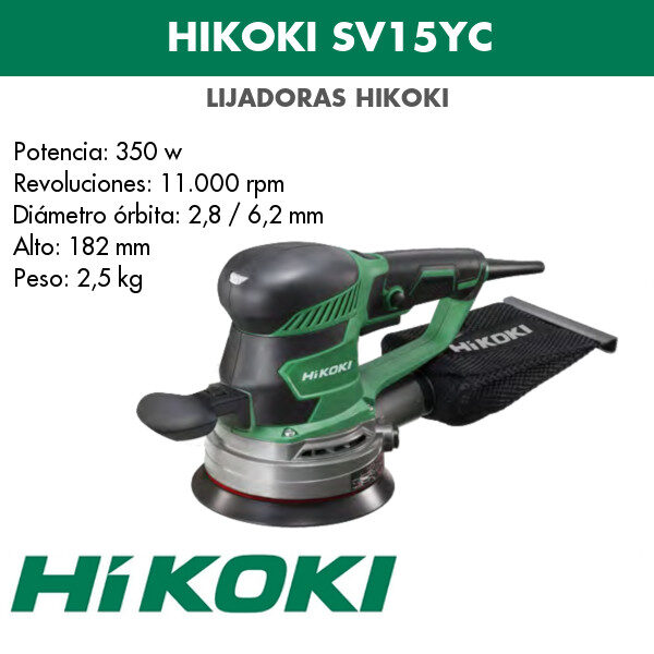 Lijadora Hikoki SV15YC