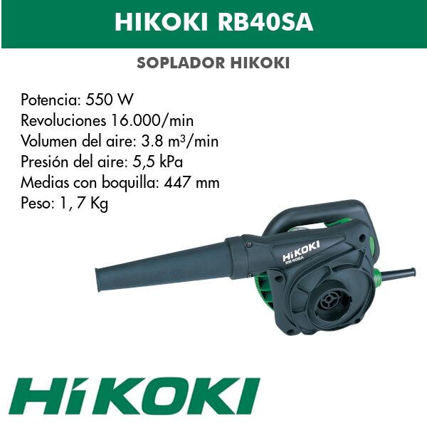 Hikoki RB40SA 0.55kw ventilateur