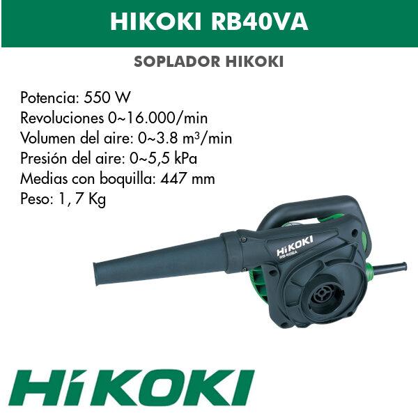 Hikoki RB40VA 0.55kw ventilateur