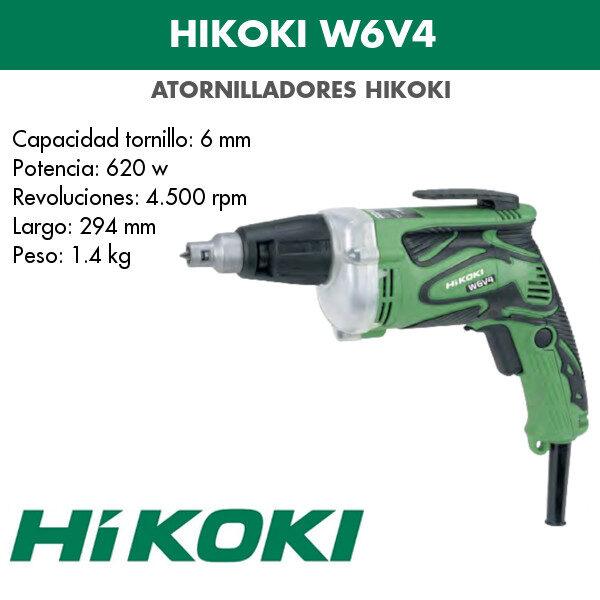 Atornillador Hikoki W6V4