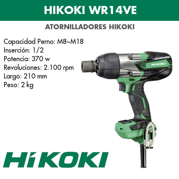Taladro Hikoki WR14VE