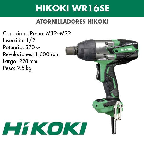 Atornillador Hikoki WR16SE