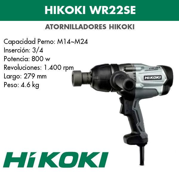 Atornillador Hikoki WR22SE