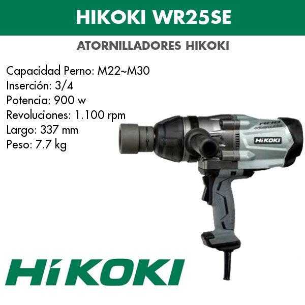Atornillador Hikoki WR25SE