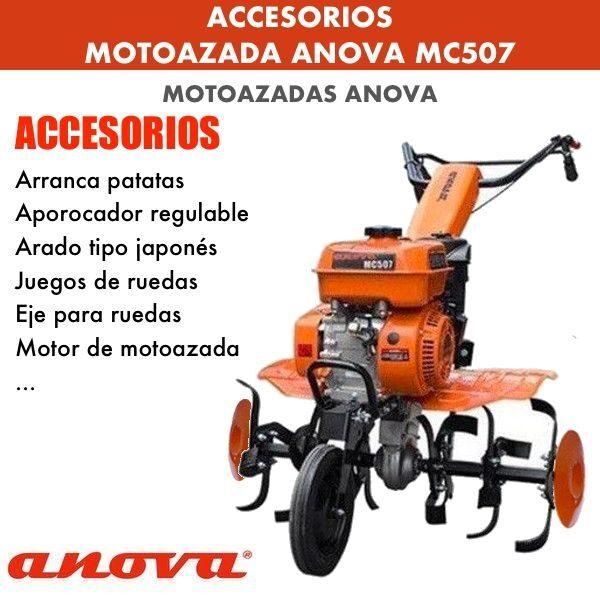 accesorios para motoazadas mc507
