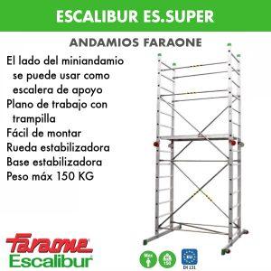 Andamios Faraone Escalibur ES.SUPER