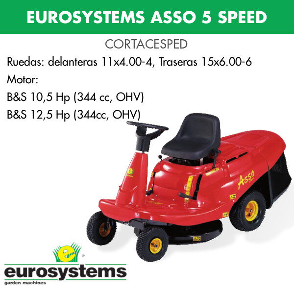 cortacesped eurosystems asso5