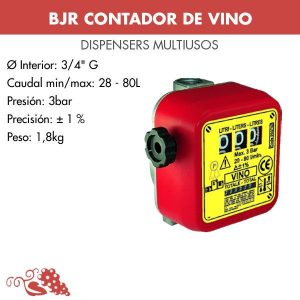 Contador de vino CMV 003702
