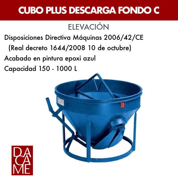 Cubo plus descarga fondo Dacame C