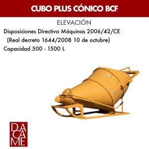 Cubo plus cónico Dacame BCF