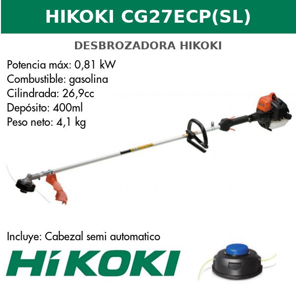 desbrozadora HIKOKI CG27ECP(SL)