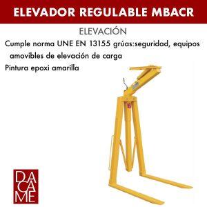 Elevador regulable Dacame MBACR