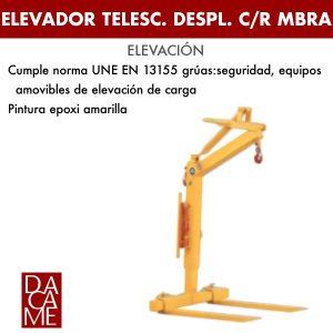 Elevador telescópico despl. c/r Dacame MBRA